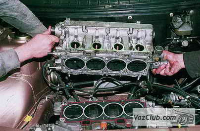 Головка двигателя ваз 2110