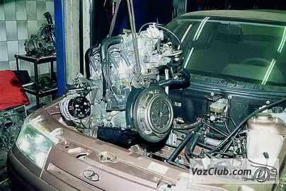 Сборка двигателя ваз 2112