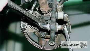 Ваз 2110 ремонт передней подвески своими руками
