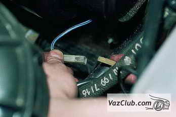 снятие электродвигателя отопителя ваз 2110, ваз 2111, ваз 2112