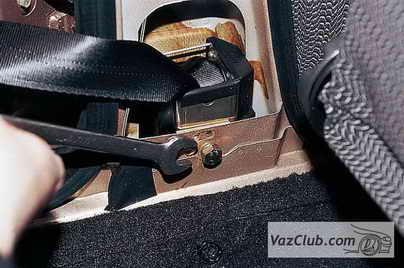 Ремень безопасности ваз 2110 ремонт своими руками