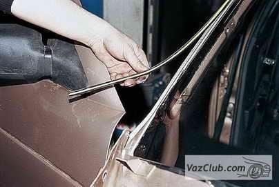 Замена лобового стекла ВАЗ 2110 47