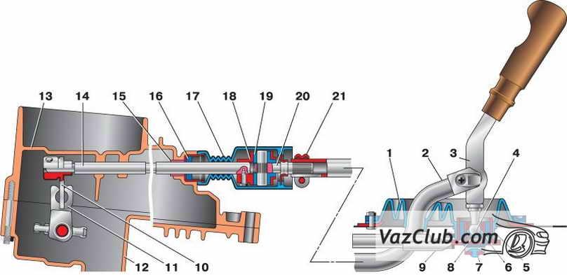 39 – синхронизатор V передачи
