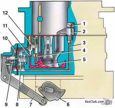 электросхема бензонасоса ваз 2110