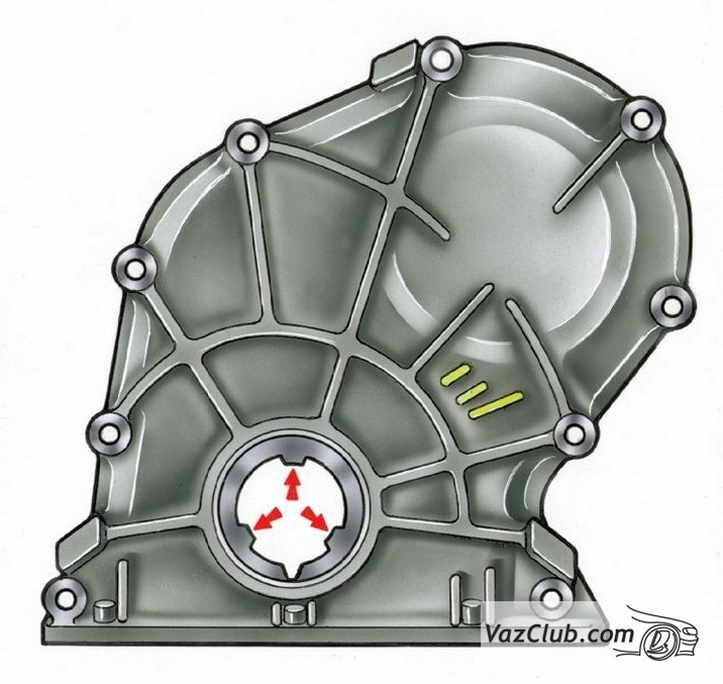 Сборка двигателя ваз 2107 ваз 2105 ваз 2104