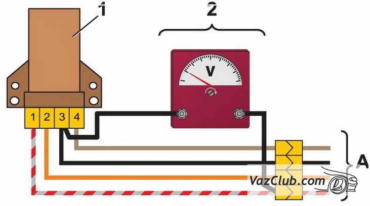 upravlenie pnevmoklapanom karbyuratora 2 - Электропневмоклапан карбюратора ваз 2107