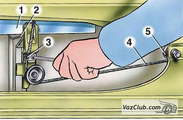Замена стеклоподъемника передней двери ВАЗ 2101, 2106 ...