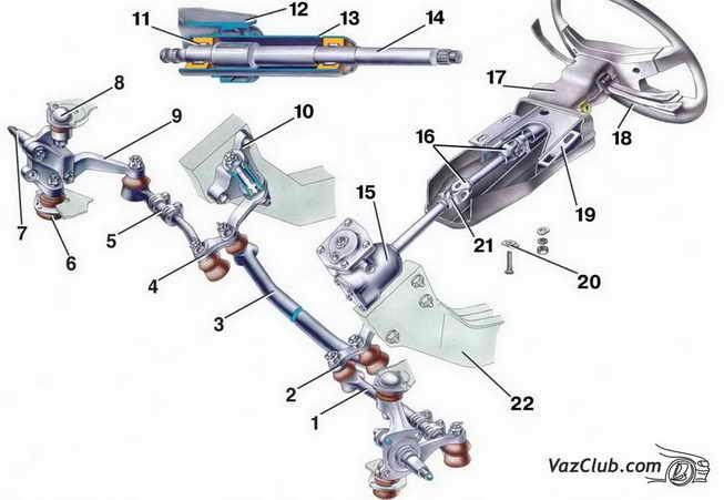 механизма Ваз 2107,