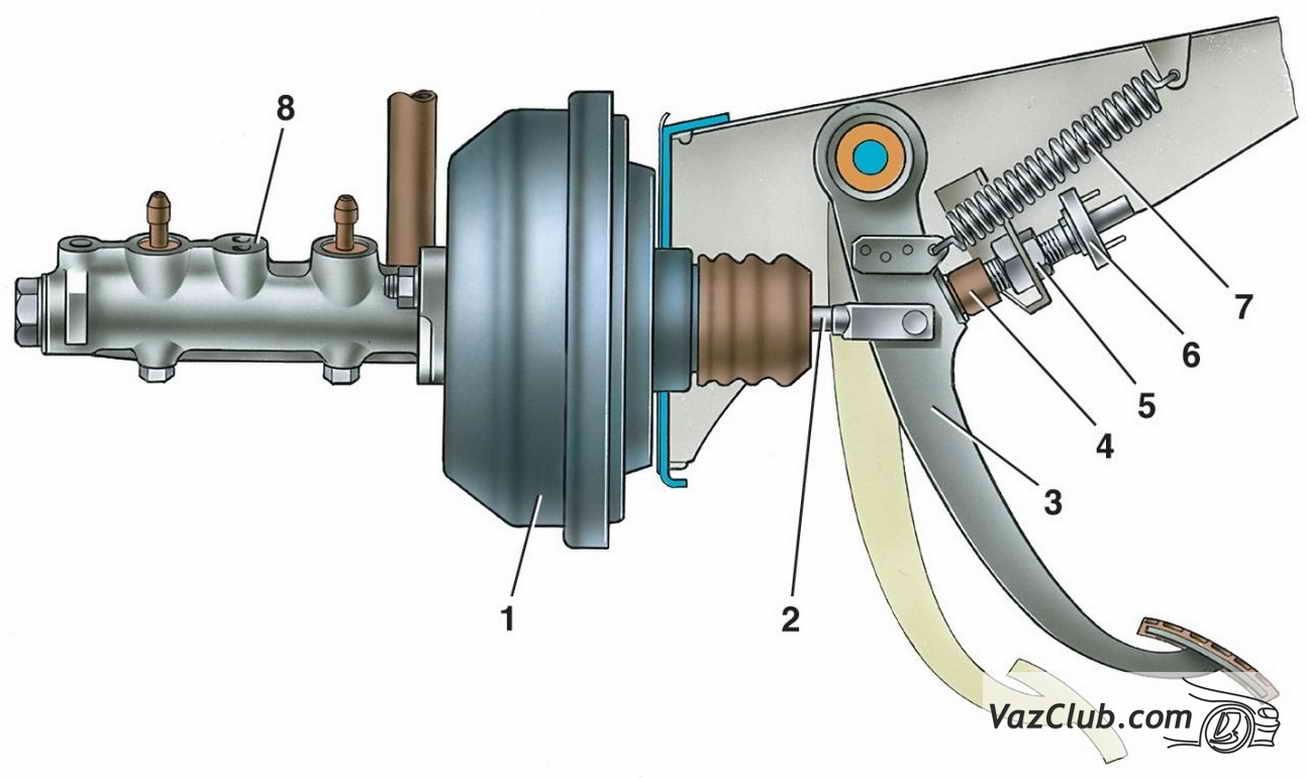 Ремонт вакуумного усилителя тормозов 2114 своими руками фото 799