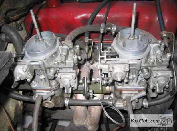 Ваз 2107 тюнинг двигателя карбюратор своими руками