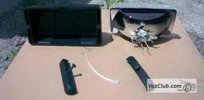установка бампера