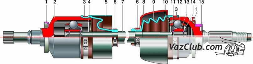 привод передних колес шевроле нива