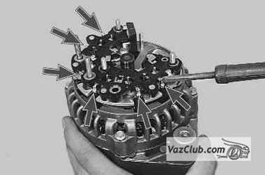 статорная обмотка генератора