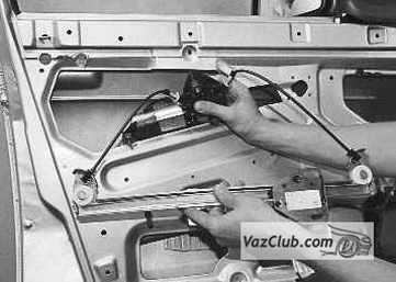 приора замена привод стеклоподъемника