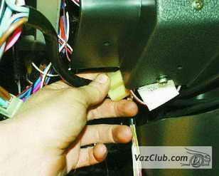 провода выключателя и реле зажигания
