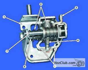 механизм переключения передачи ваз 2108, ваз 2109, ваз 21099