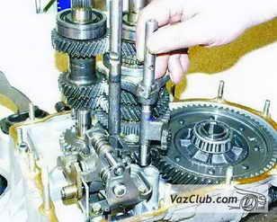 снятие и установка головки с вилкой