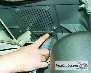 zamena zadnego remnya 5 - Установка задних ремней безопасности на ваз 21099