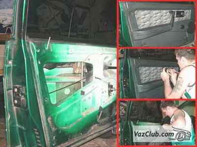 установка стеклоподъемников на ваз 2108