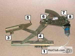 механизм стеклоподъемника