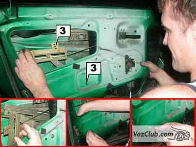 порядок установки электростеклоподъемников ваз 2108