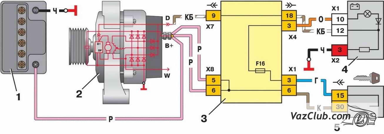 Схема генератора 12в своими руками 109