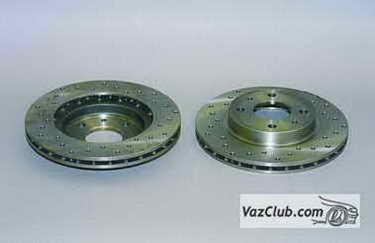 tormoznye diski 1 - Установка вентилируемых тормозных дисков на ваз 2114
