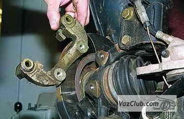 tormoznye diski 11 - Установка вентилируемых тормозных дисков на ваз 2114