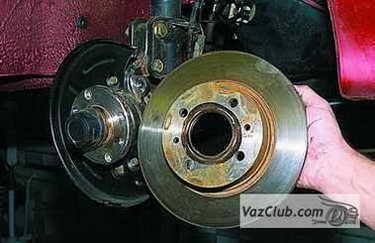 tormoznye diski 13 - Установка вентилируемых тормозных дисков на ваз 2114