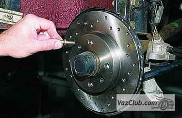 tormoznye diski 15 - Установка вентилируемых тормозных дисков на ваз 2114