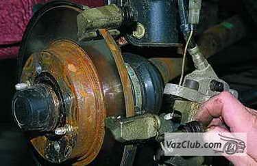 tormoznye diski 7 - Установка вентилируемых тормозных дисков на ваз 2114