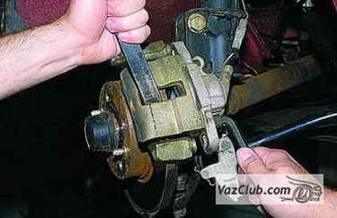 tormoznye diski 8 - Установка вентилируемых тормозных дисков на ваз 2114