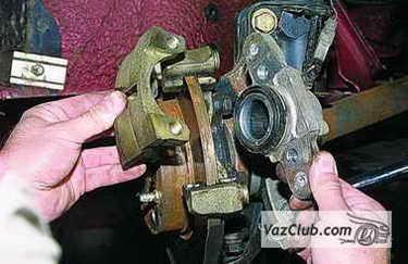 tormoznye diski 9 - Установка вентилируемых тормозных дисков на ваз 2114